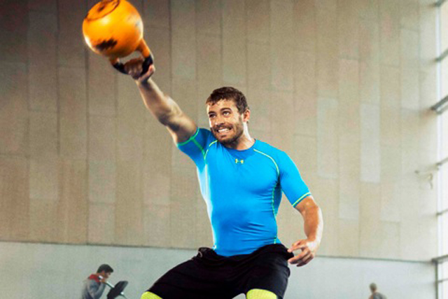 Leigh Halfpenny: the Welsh rugby player has been on side to encourage people to train harder