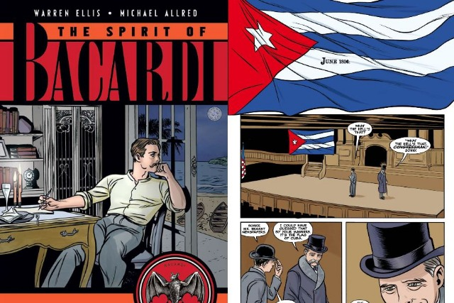 'The Spirit of Bacardi' graphic novel