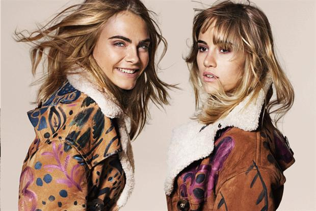 Burberry: Cara Delevingne and Suki Waterhouse in the autumn/winter Burberry campaign