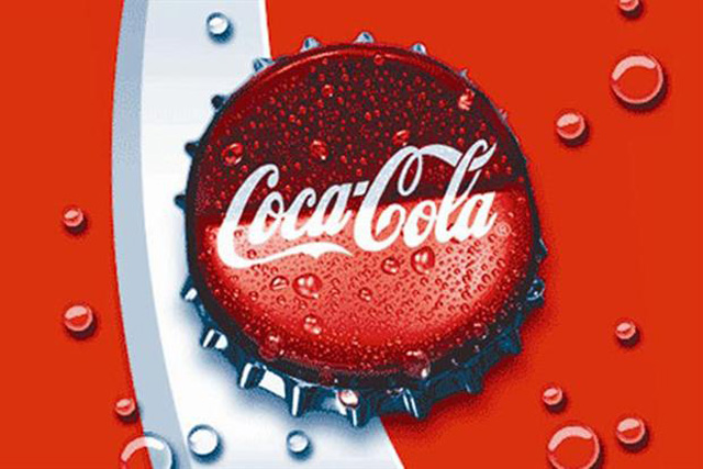 Coke: ranked the world's top brand by Warc