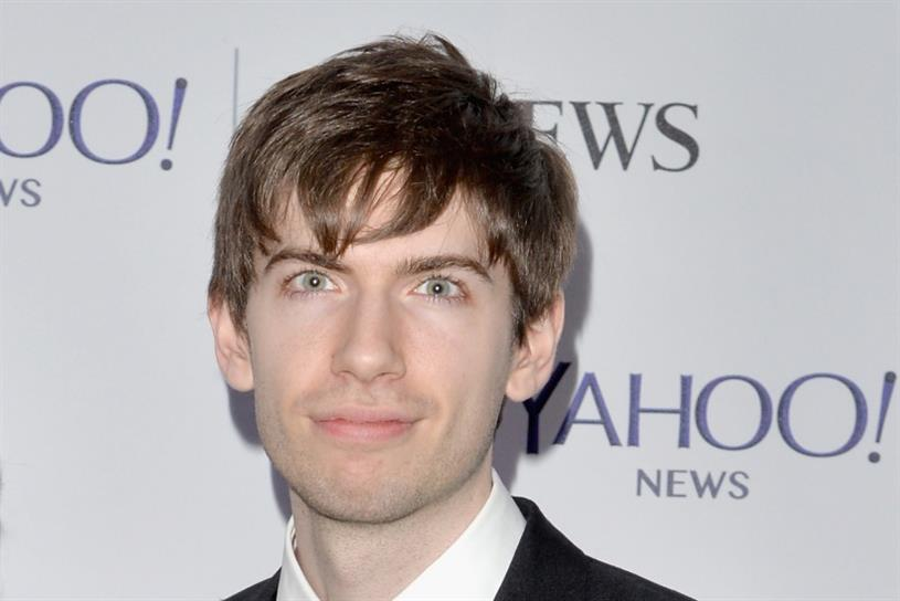 Tumblr: founder David Karp, who sold the site to Yahoo for $1.1bn in 2009