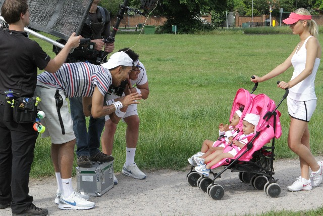 Maria Sharapova stars in the Rizzle Kicks music video