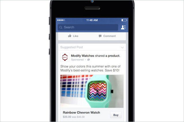 Facebook: to allow users to shop without leaving the network with Buy button