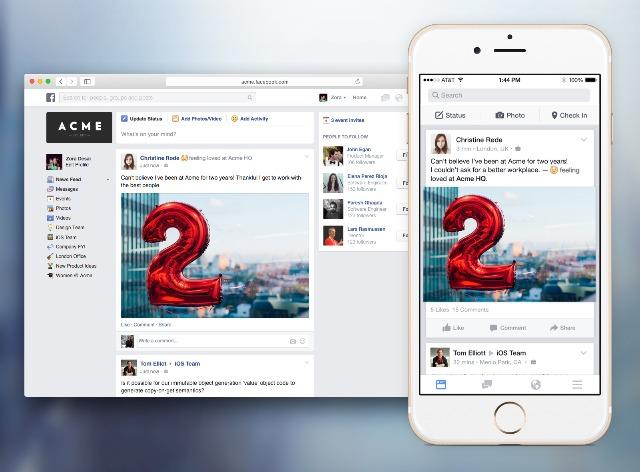 Facebook: unveils its LinkedIn rival, Facebook at Work