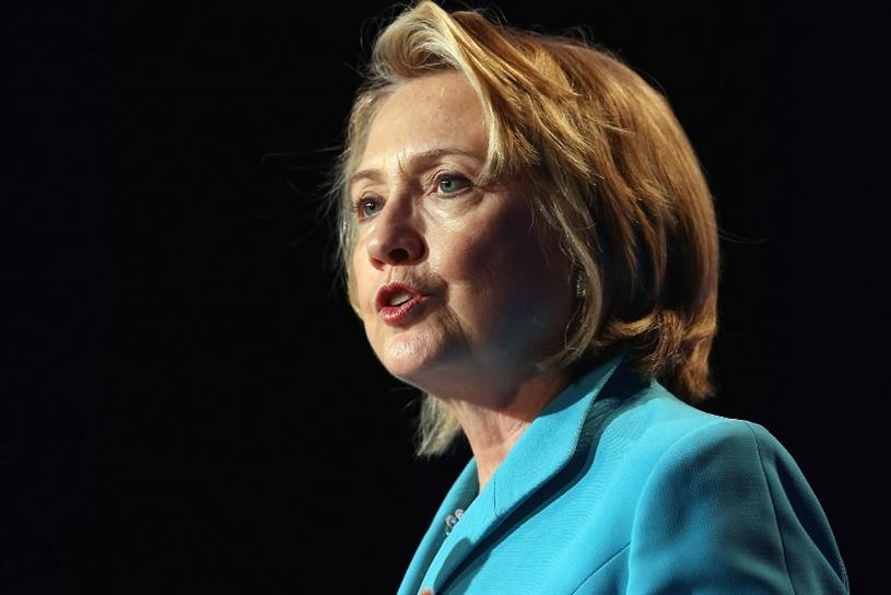 Hillary Clinton: turning to big brands to help build her image