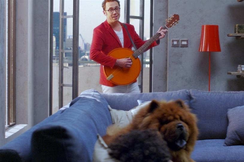 Hive: the singing bard at the heart the connected home brand's campaigns