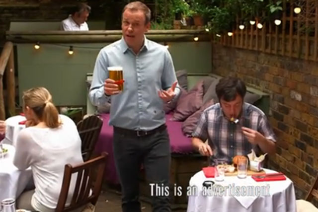 Tim Lovejoy: presenter fronts Let There Be Beer campaign on Sunday Brunch