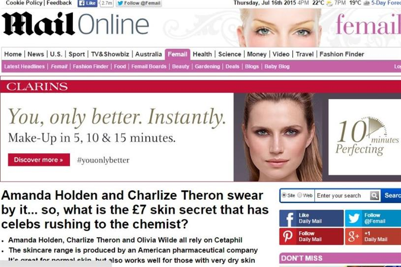 Nestlé sold out of Cetaphil on its own website after running ads programmatically