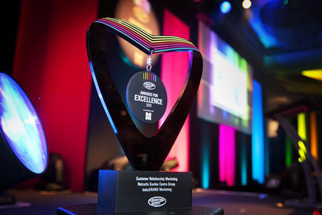 The Marketing Society Awards for Excellence: trophy