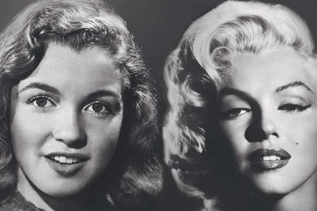 Max Factor:  the make-up brand's ad campaign featuring Marilyn Monroe