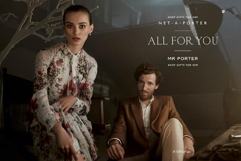 Net a porter and mr porter snuggle up for first joint for Mr porter live
