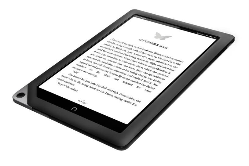 Nook: e-reader was a rival to the Amazon Kindle