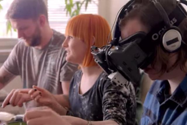 Ume.net.: uses Oculus Rift in ads