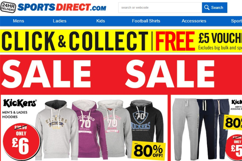 Sports Direct has issued a profit warning
