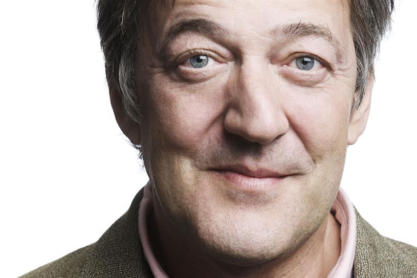 Stephen Fry: backs the launch of .uk