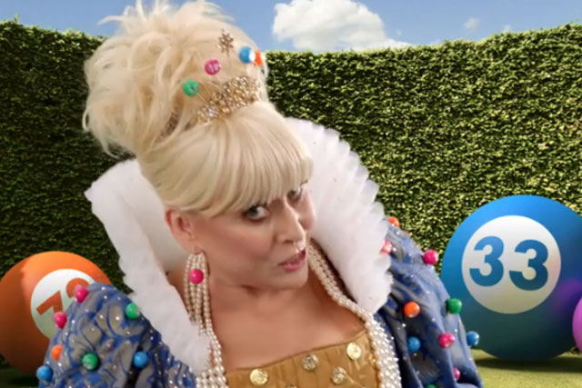 Barbara Windsor: actress stars in Jackpotjoy.com ad