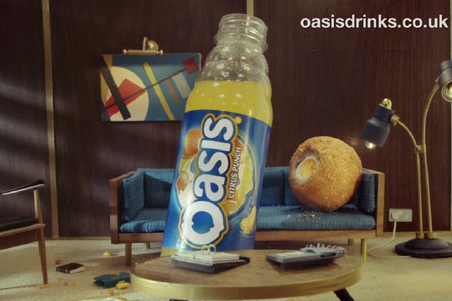 Oasis: Scotch egg by VCCP