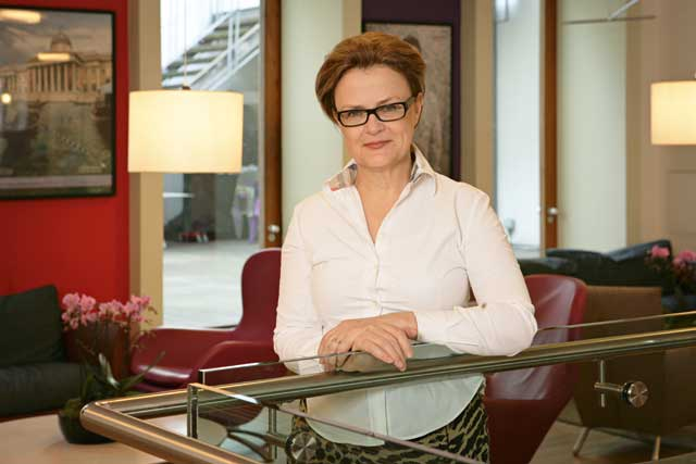 Kate Robertson: UK group chairman of Havas Worldwide London.