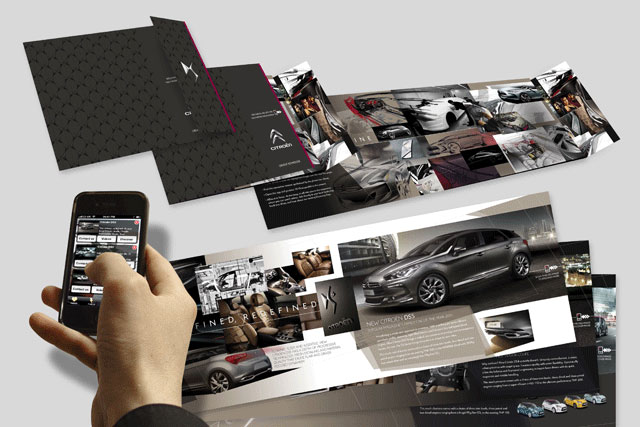 Citroën: Acuity designs interactive direct mailer for DS5 campaign