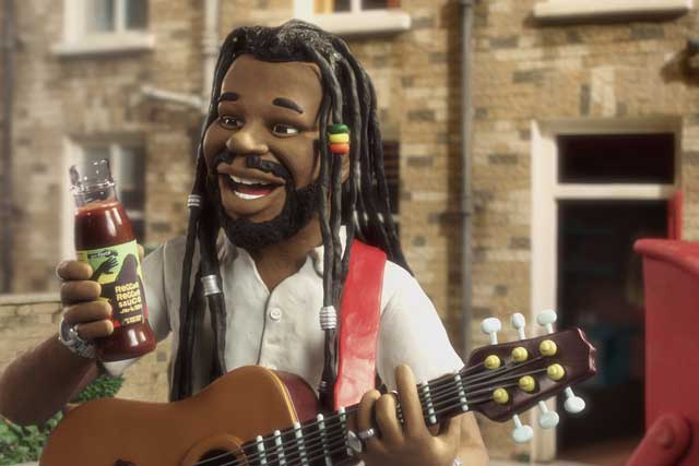 Reggae Reggae Sauce ad