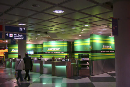 Europcar…largest airport presence in the UK