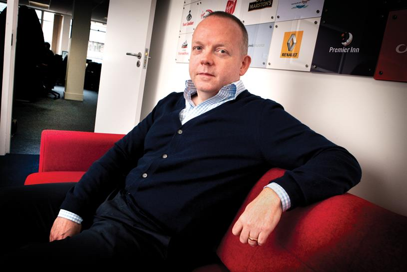 Ffitch: credited with steering MG OMD in the right direction after the 'wobble' that resulted from its sale to Omnicom in the 90s