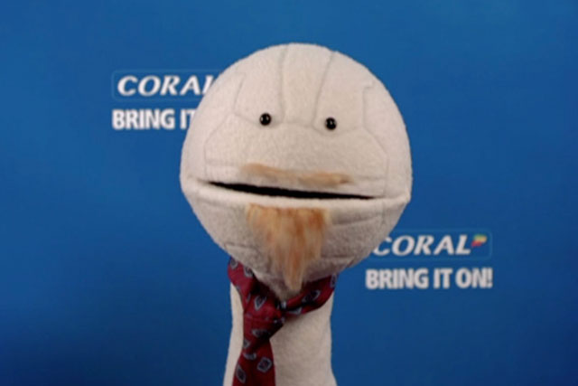 Coral: expected to increase adspend from £2m currently