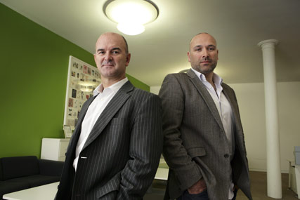 Andrew Edwards and Marc Giusti