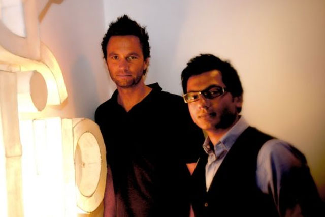 Flip Media: founders Martin Diessner and Dinesh Lalvani