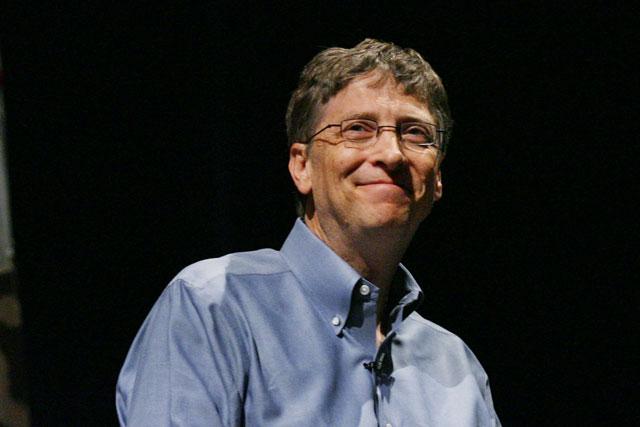 Gates: humanitarian work