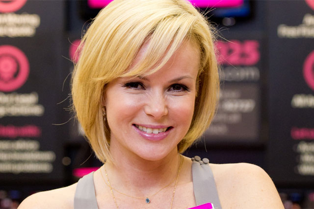 Amanda Holden: enthused about solictors' firm on ITV's This Morning