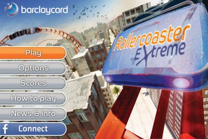 Barclaycard Rollercoaster game