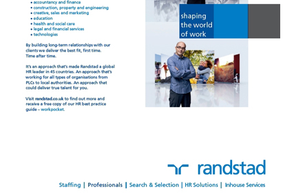 Randstad: national marketing campaign launches this week