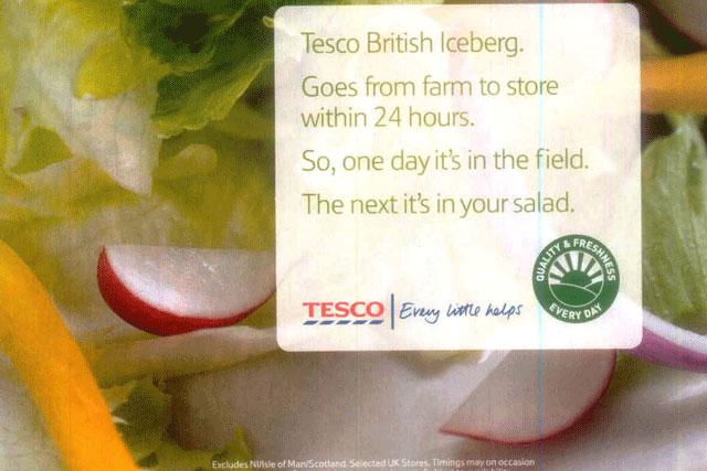 Tesco: ASA bans lettuce freshness ad for making misleading claims