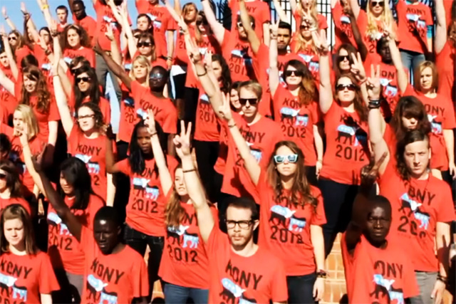 Kony 2012: viral campaign stays top for third week