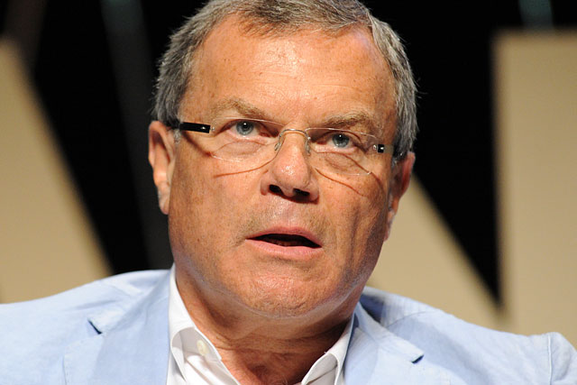 Sir Martin Sorrell: chief executive of WPP Group