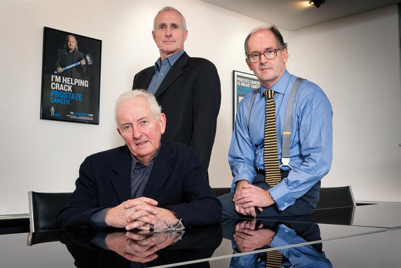 HHM: start-up founded by (l-r) Marcantonio, Hobbs, Holmes