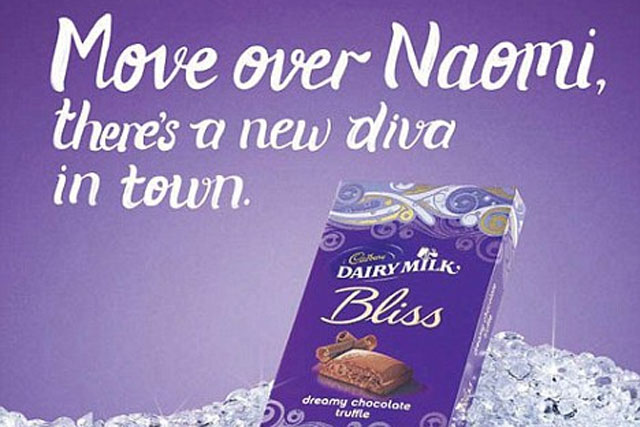Cadbury's Bliss: latest press ad pulled over racism claims
