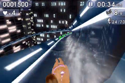 Barclaycard...Waterslide Extreme game for iPhone