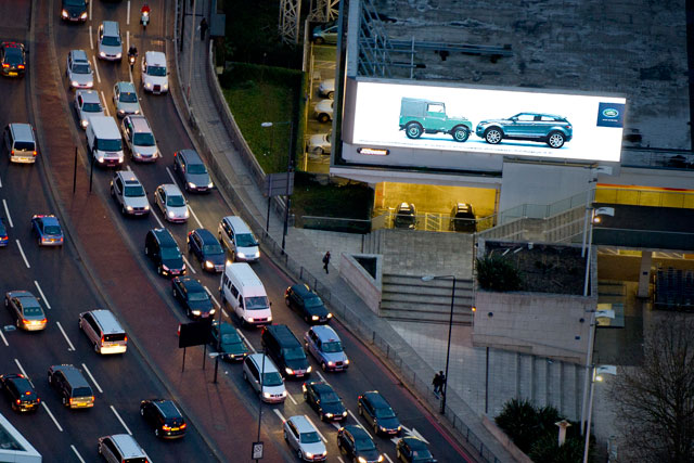 JCDecaux: Cromwell Road site
