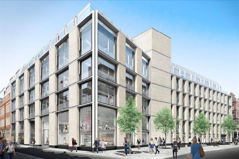Saatchi & Saaatchi: possible new home  at 40 Chancery Lane