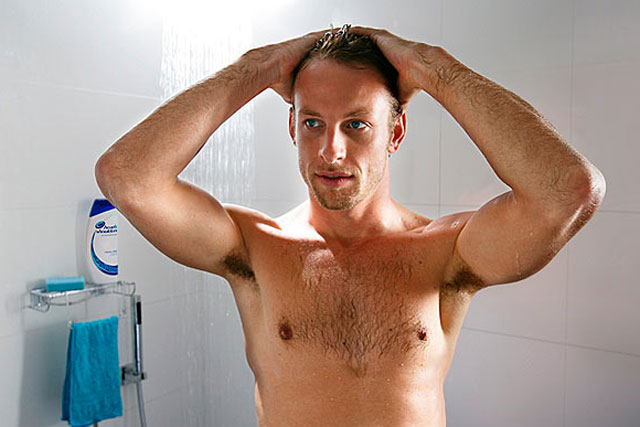 Head and Shoulders: Jenson Button models for the brand