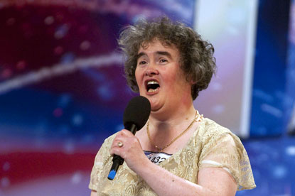 Susan Boyle...Britain's Got Talent sensation