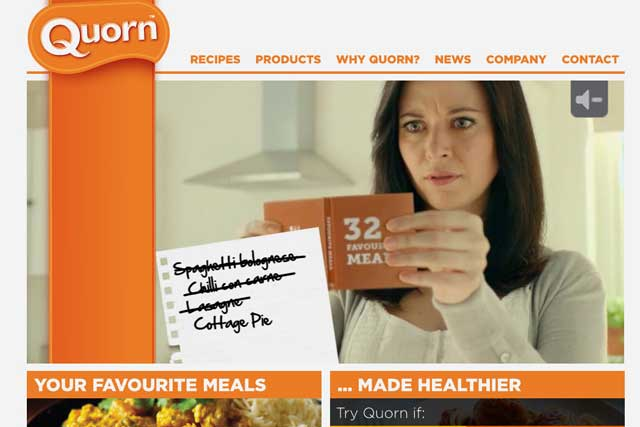 Recent Initiative work: Quorn