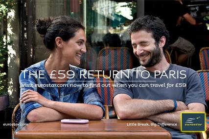 Eurostar: calls creative review