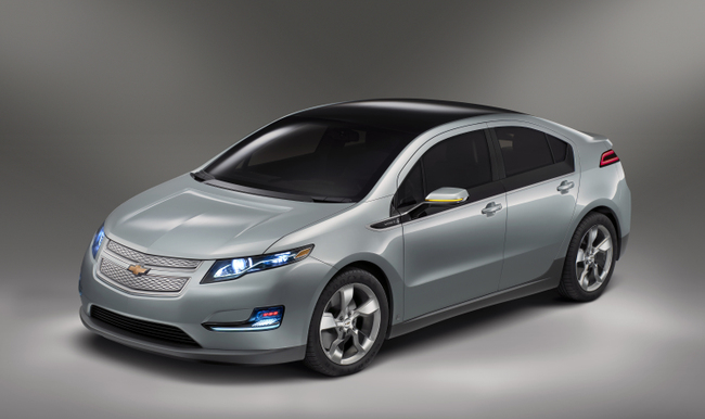 Chevrolet Volt: to be promoted through Microsoft Kinect