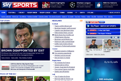 Sky Sports: appoints Brothers and Sisters
