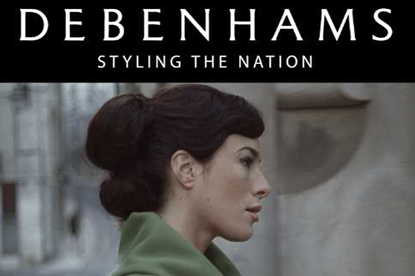 Debenhams... picked JWT