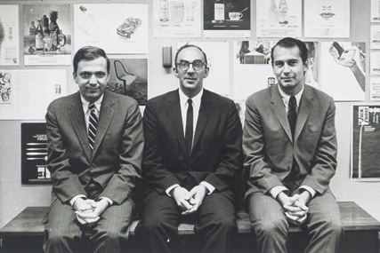 Papet, Koenig and Lois in 1962