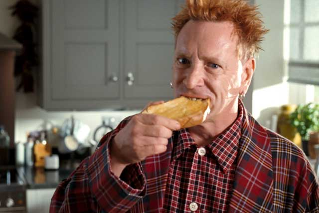 Country Life…bringing back its first John Lydon ad to celebrate the Jubilee